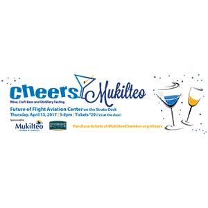 Cheers! Mukilteo Logo & Flyer