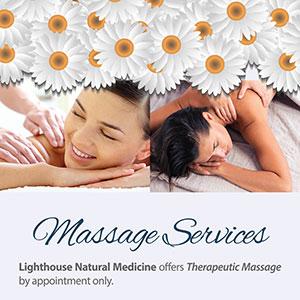 Lighthouse Natural Medicine Rackcard