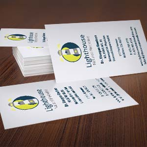 Lighthouse Natural Medicine Logo & Cards