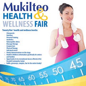 Mukilteo Health & Wellness Fair – Logo & Flyer