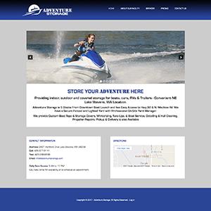 Adventure Storage Website