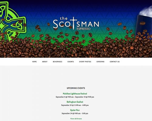 Scotsman Espresso Website