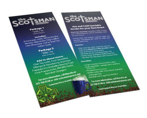 Scotsman Espresso Rackcard