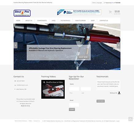 StrutPro Website