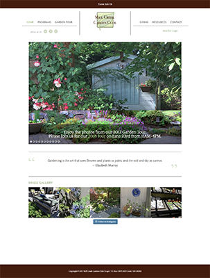 Mill Creek Garden Club website
