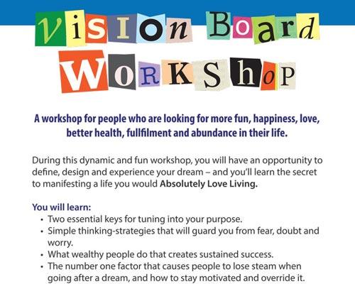 Mukilteo Vision Board