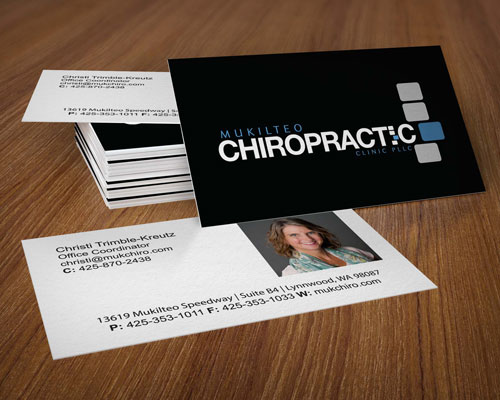 MUKILTEO CHIROPRACTIC  BUSINESS CARD