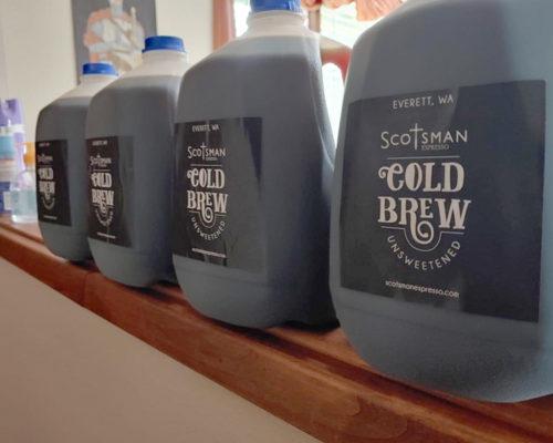 Scotsman Cold Brew Label